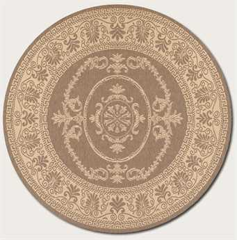 Couristan Recife 8'6'' Round Natural Area Rug