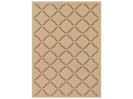 Couristan Five Seasons Sorrento Rectangular Cream & Gold Area Rug