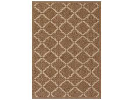 Couristan Five Seasons Sorrento Rectangular Gold & Cream Area Rug