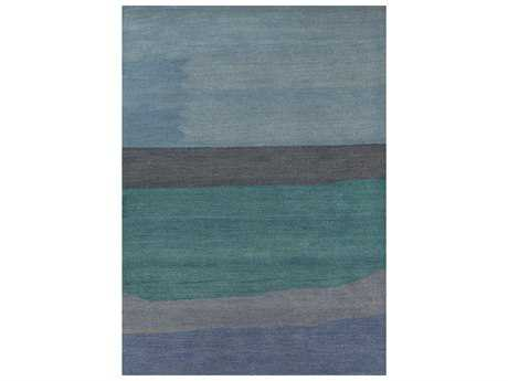 Couristan Oasis Sea Harbor Rectangular Ocean & Sky Blue Area Rug