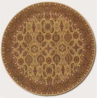 Couristan Royal Kashimar Round Hazelnut Area Rug