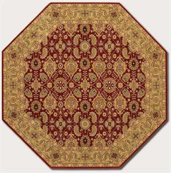 Couristan Royal Kashimar Octagon Persian Red Area Rug