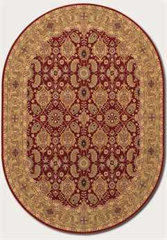 Couristan Royal Kashimar Oval Persian Red Area Rug