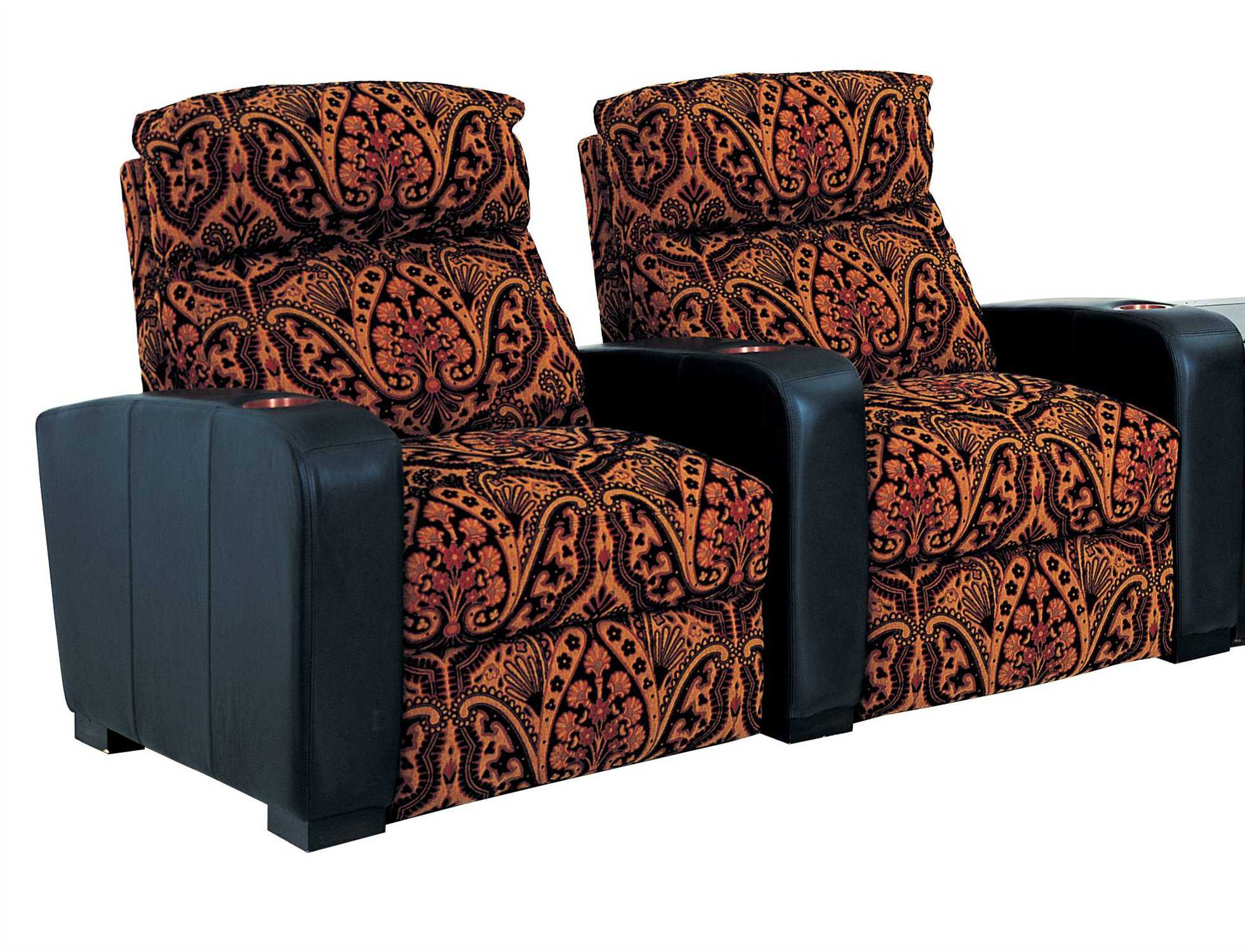 Classic Leather Home Theatre Theater Seating Cl34433