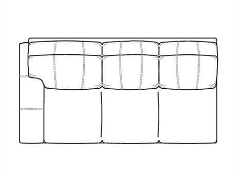 Classic Leather Oregon Left Arm Facing Sofa
