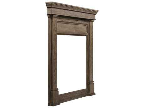 Curations Limited Sumner Natural Oak Mirror