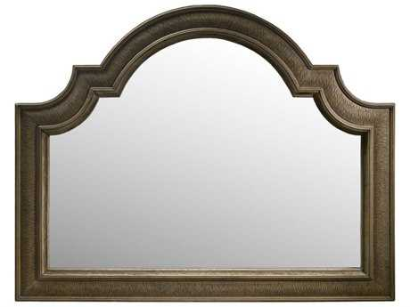 Curations Limited Trento Natural Oak Wide Mirror