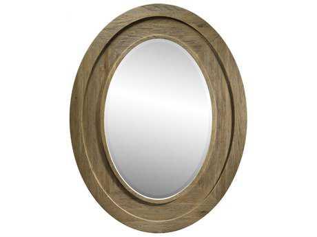 Curations Limited Olmetta Natural Oak Mirror