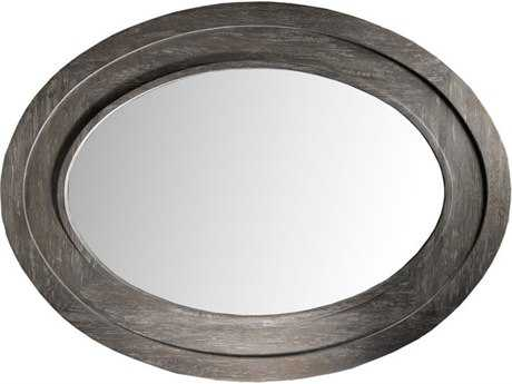 Curations Limited Olmetta Weathered Gray Oak Wide Mirror