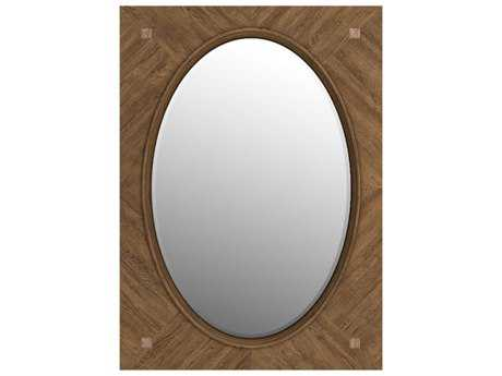 Curations Limited Solaro Natural Oak Mirror