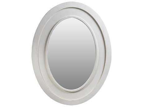 Curations Limited Olmetta Vintage White Oak Mirror