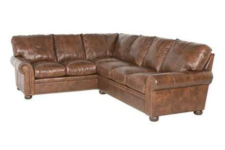 Classic leather easton sectional sofa clsfeastons for Easton leather sectional sofa