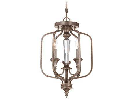 Craftmade Jeremiah Boulevard Three-Light Convertible Semi-Flushmount Light in Mocha Bronze