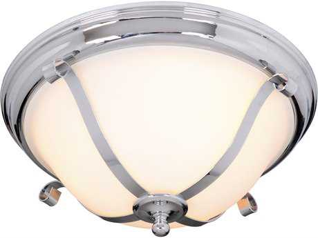 Craftmade Jeremiah Chelsea Chrome Three-Light 16'' Wide Flush Mount Ceiling Light