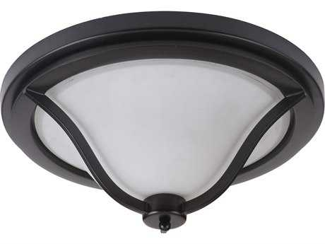 Craftmade Jeremiah Gabriella Matte Black Three-Light 16.54'' Wide Flush Mount Ceiling Light