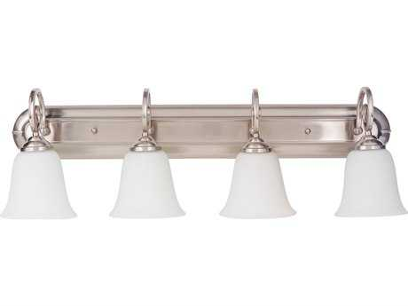 Craftmade Jeremiah Cecilia Brushed Satin Nickel Four-Light 32'' Wide Vanity Light