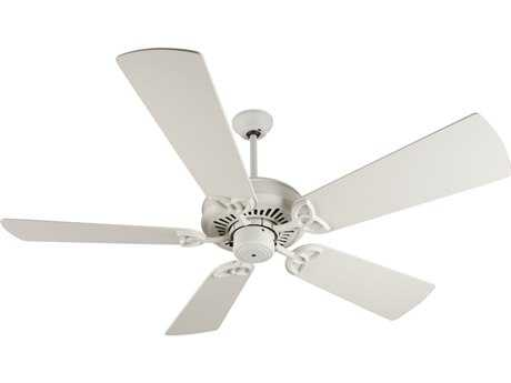 Craftmade American Tradition Antique White 54 Inch Wide Ceiling Fan with Premier Blades