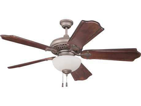 Craftmade Mia Athenian Obol 52'' Blade Indoor Ceiling Fan with Two-Light Fluorescent Light Kit