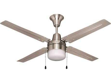 Craftmade Ellington Urbana Brushed Chrome 48'' Blade Indoor Ceiling Fan with Incandescent Light Kit