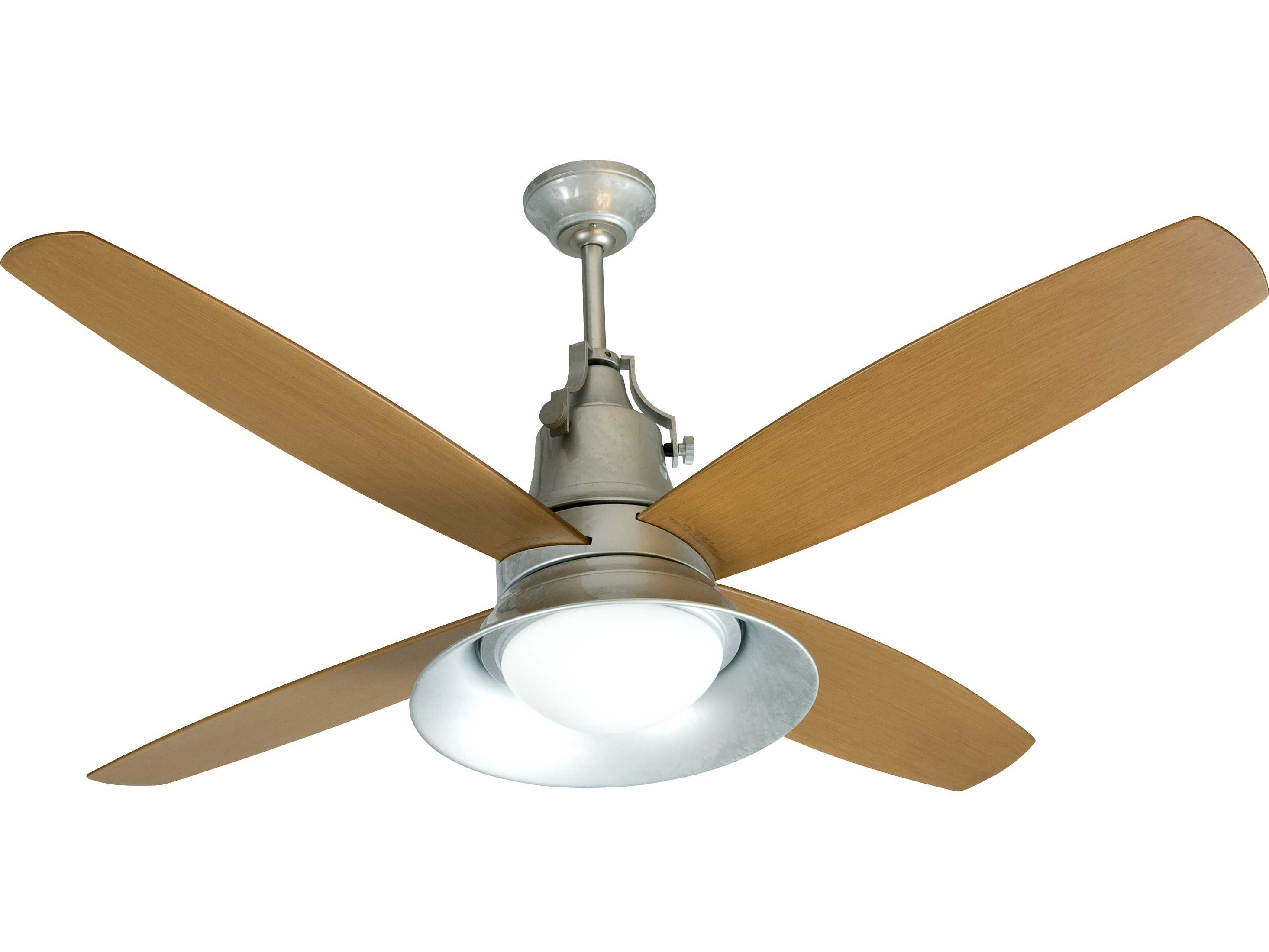 Craftmade Union Galvanized Two Light 52 Inch Wide Ceiling Fan with