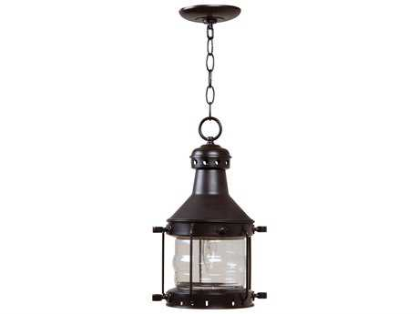 Craftmade Exteriors Nautical Burnished Copper 9'' Wide Outdoor Pendant Light