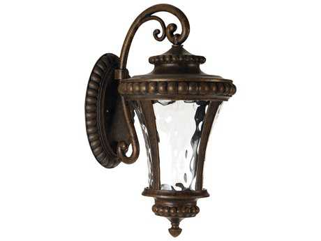 Craftmade Exteriors Prescott II Led Peruvian Bronze 10'' Wide LED Outdoor Wall Sconce