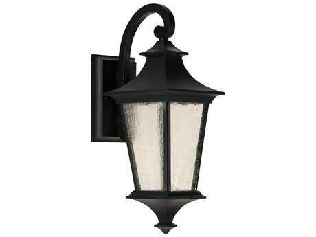 Craftmade Exteriors Argent II Midnight 6'' Wide Outdoor Wall Sconce