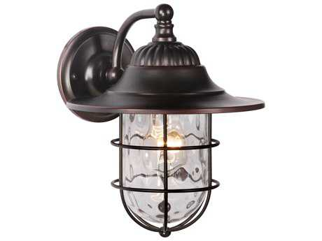 Craftmade Exteriors Fairmont Oiled Bronze Gilded 8'' Wide Outdoor Wall Sconce