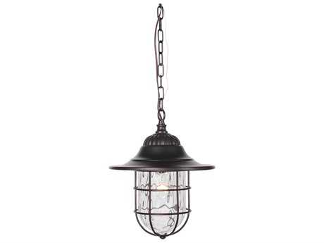 Craftmade Exteriors Fairmont Oiled Bronze Gilded 11.5'' Wide Outdoor Pendant Light