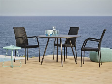Cane Line Outdoor Area Aluminum Dining Set