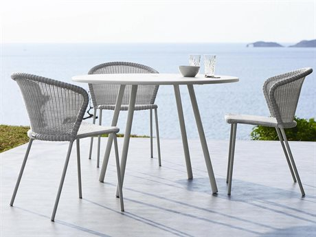 Cane Line Outdoor Area Aluminum Dining Set PatioLiving