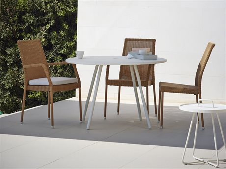 Cane Line Outdoor Core Aluminum Dining Set
