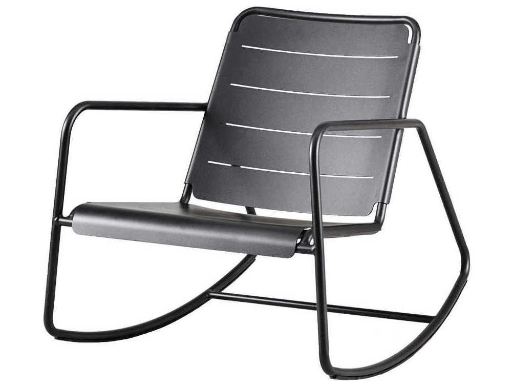 Phenomenal Cane Line Outdoor Copenhagen Lava Grey Aluminum Metal Lounge Chair Ibusinesslaw Wood Chair Design Ideas Ibusinesslaworg