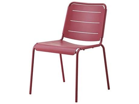 Cane Line Outdoor Copenhagen Marsala Aluminum Metal Dining Chair (Sold in 2)