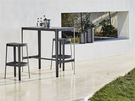 Cane Line Outdoor Cut Aluminum Dining Set