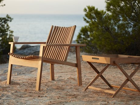 Cane Line Outdoor Amaze Teak Lounge Set PatioLiving