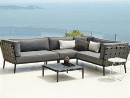 Conic Aluminum Cushion Lounge Set