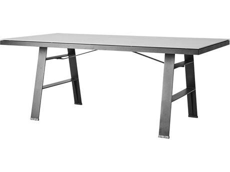 Cane Line Outdoor Aluminum Ceramic Rectangular Dining Table CNO5053ALP053CB
