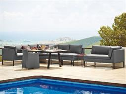 Flex Aluminum Cushion Lounge Set