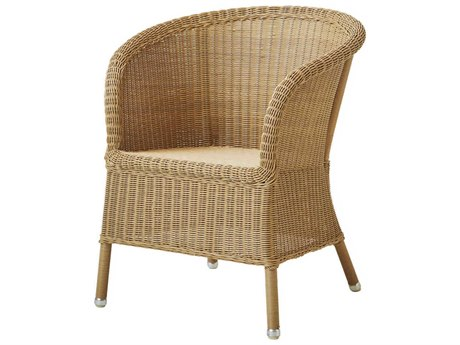 Cane Line Outdoor Derby Natural Wicker Dining Chair PatioLiving