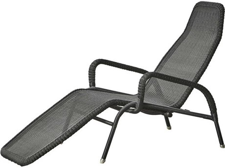 Winston Belvedere Woven Aluminum Stackable Chaise Lounge