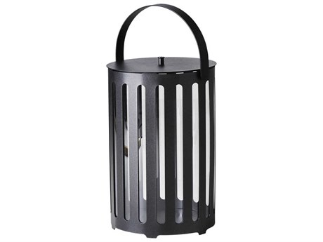 Cane Line Outdoor Lighttube Lava Grey Candle Holder (Sold in 2) PatioLiving