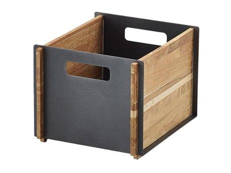 Cane Line Outdoor Teak Aluminum Storage Box