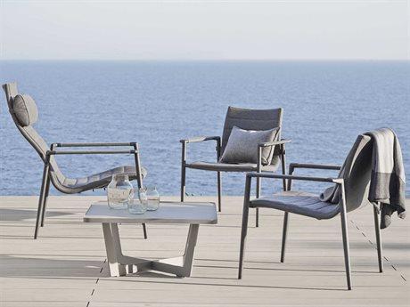 Cane Line Outdoor Core Aluminum Cushion Lounge Set