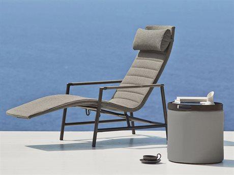 Cane Line Outdoor Core Aluminum Cushion Lounge Set PatioLiving