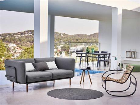 Cane Line Outdoor Urban Aluminum Cushion Lounge Set