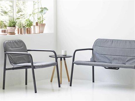 Cane Line Outdoor Kapa Aluminum Cushion Lounge Set PatioLiving
