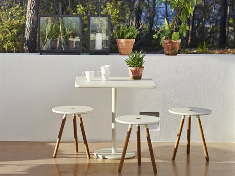 Cane Line Outdoor Aluminum Teak Dining Set