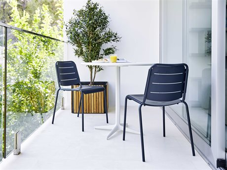 Cane Line Outdoor Aluminum Dining Set