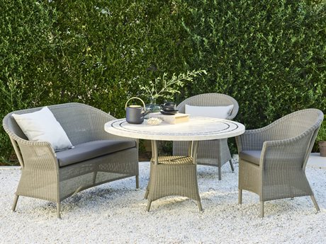 Cane Line Outdoor Wicker Dining Set